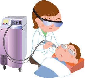赤ちゃんの血管腫治療ができます