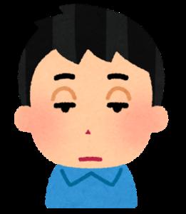 男性の眼瞼下垂症の特徴