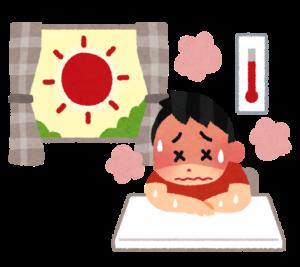 熱中症での死亡者が増加しています🥵