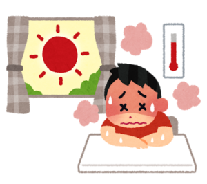熱中症にならないように。。